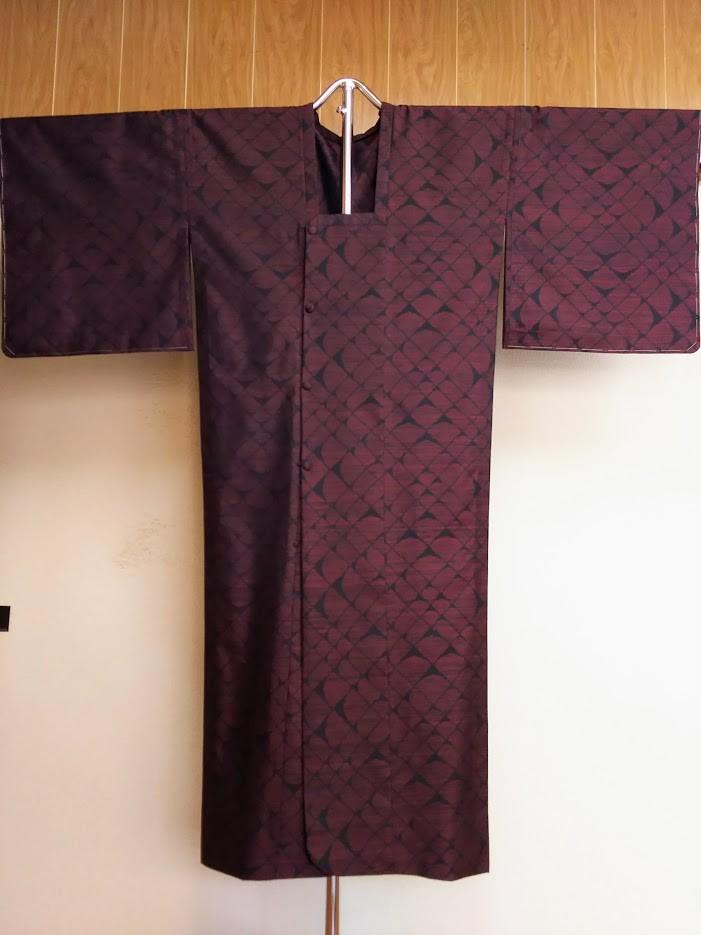 滋賀県大津市 Y.K 様 着物から雨コートへ/仕立て替え