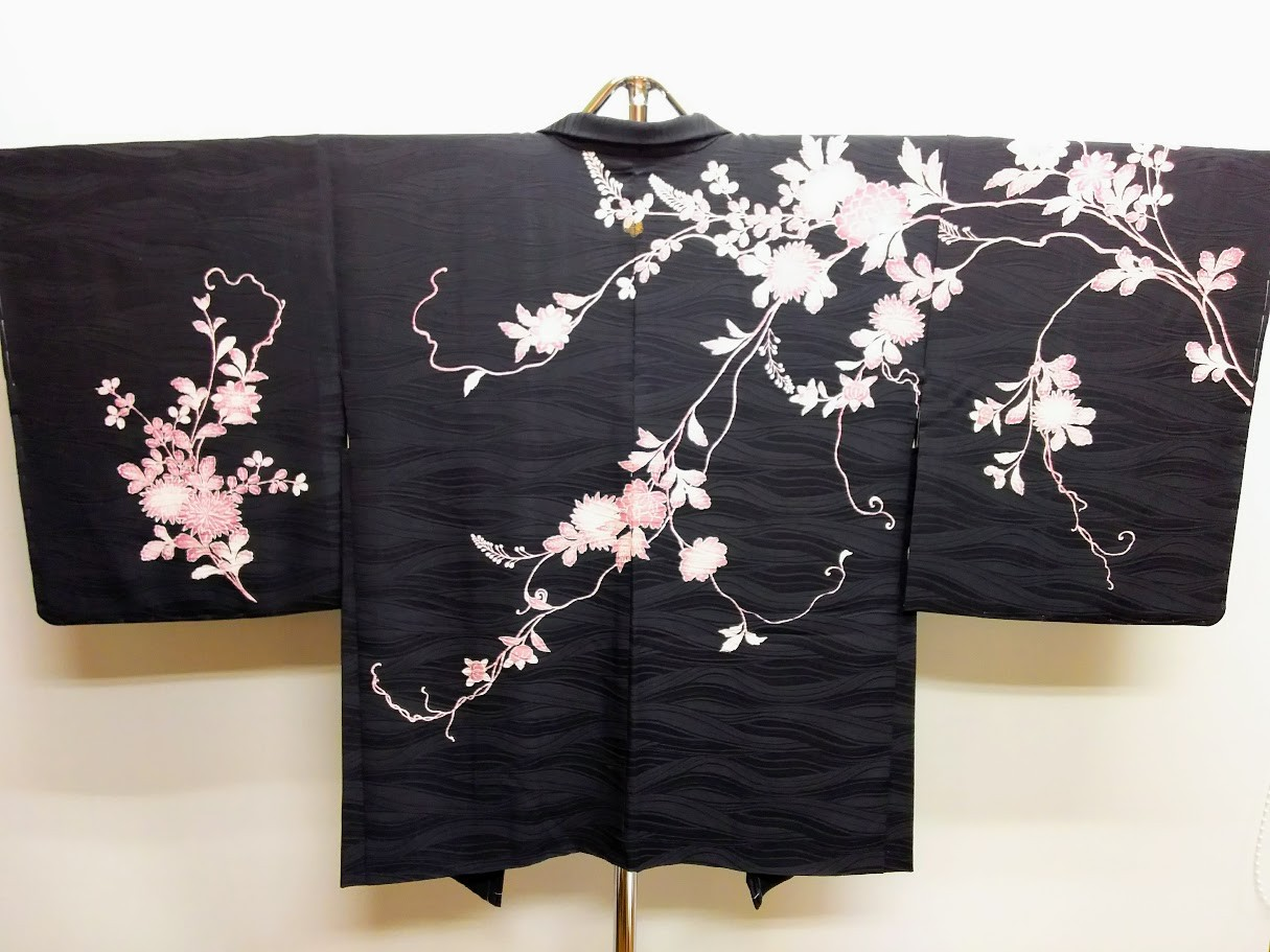 京都市左京区 E.O 様 絵羽織/袖丈・裄直し