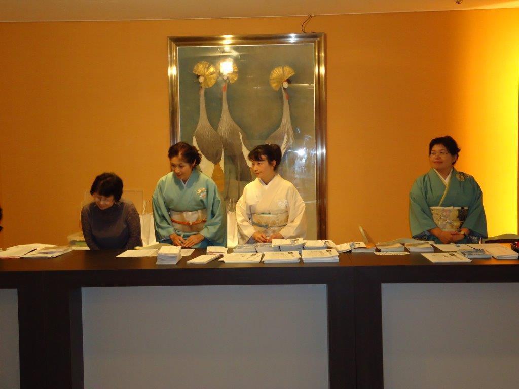 大阪和服裁縫協同組合 創立100周年 記念式典